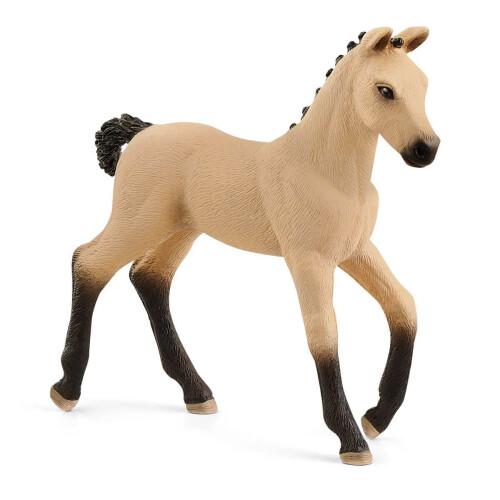 Schleich 13929 Hanoverian Foal, Red Dun