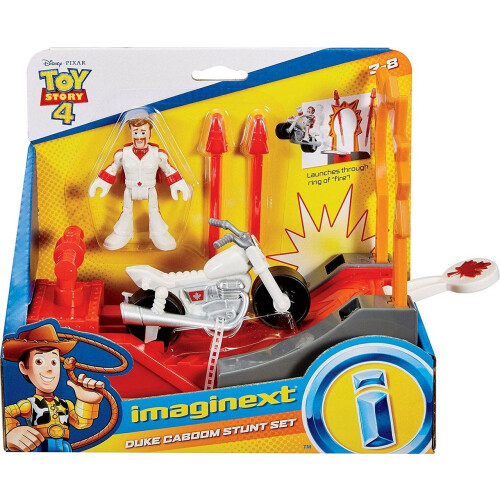 Imaginext Toy Story - Duke Caboom Stunt Set