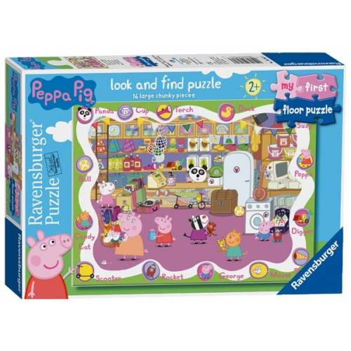 Ravensburger My First Floor Puzzle 16pcs Peppa Pig Toys