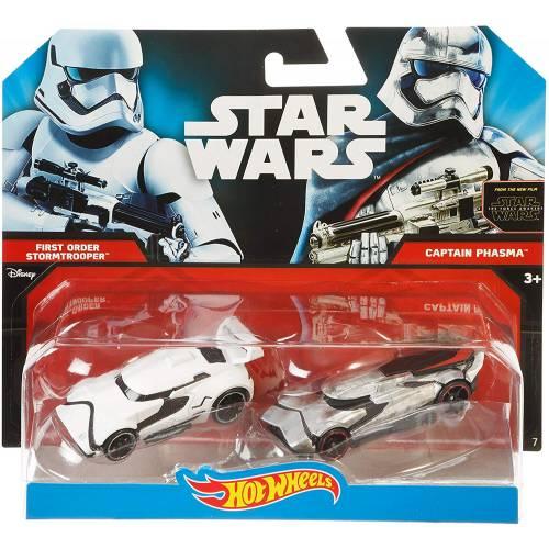 Hot Wheels Star Wars First Order Stormtrooper & Captain Phasma