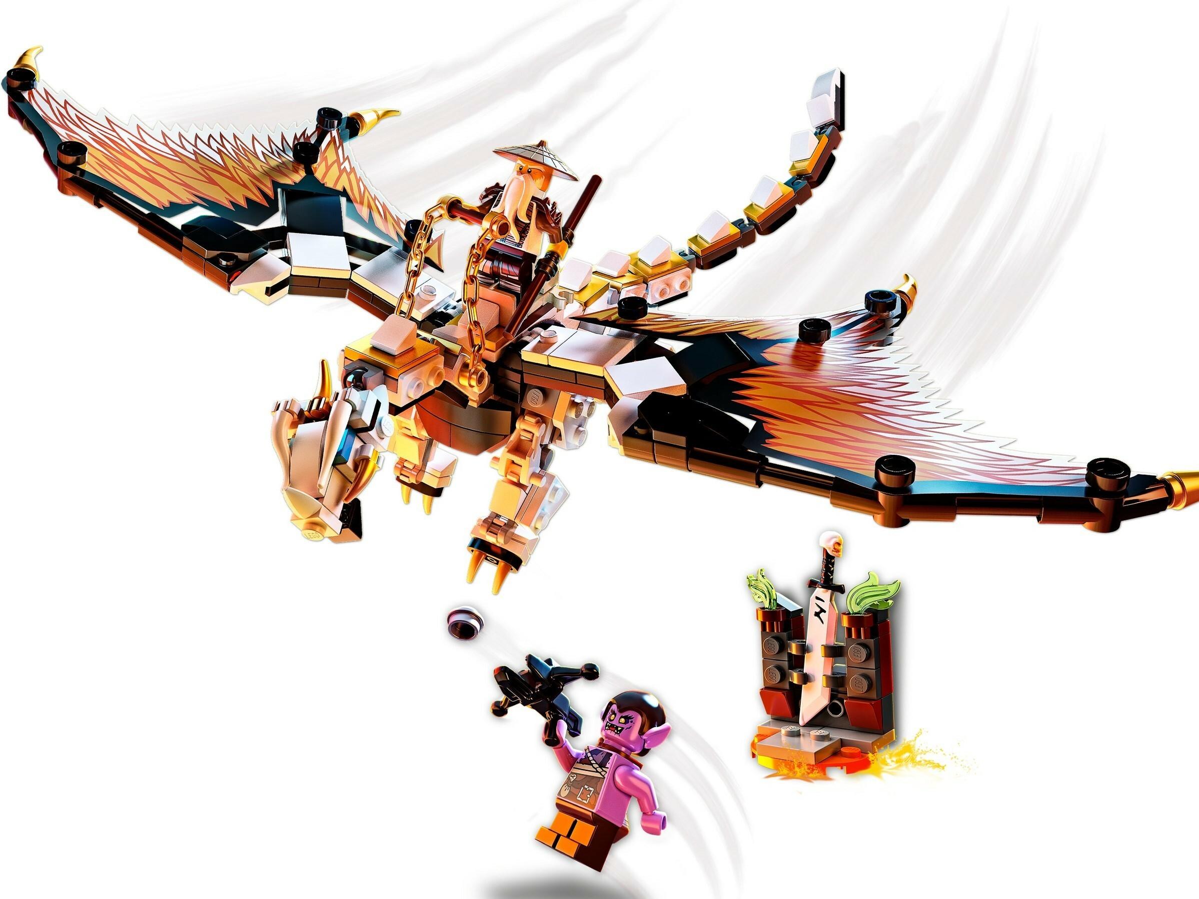 Lego 71718 Ninjago Wu's Battle Dragon   Toys n Tuck