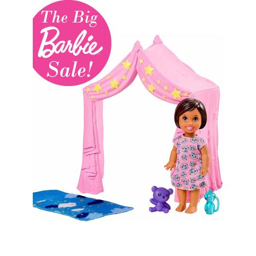 Barbie Skipper Babysitters INC Tent Playset