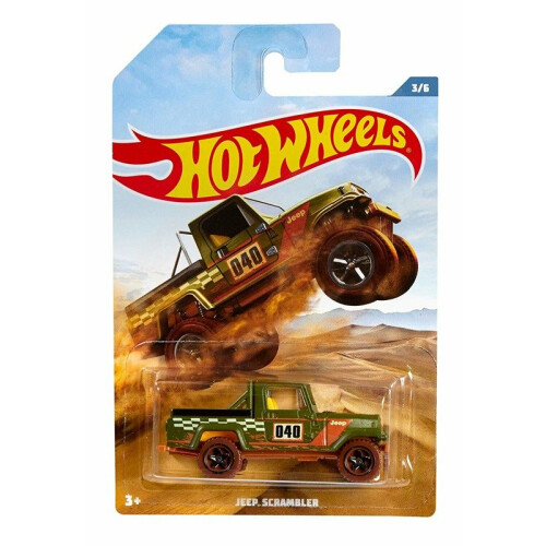 Hot Wheels Off Road Trucks - Jeep Scrambler