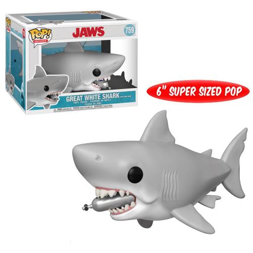 Funko Pop Vinyl Great White Shark with Diving Tank 759