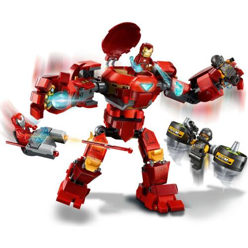 Lego 76164 Avengers Iron Man Hulkbuster versus A.I.M. Agent