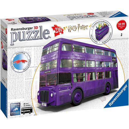Ravensburger 216pc 3D Jigsaw Puzzle Harry Potter Knight Bus