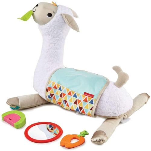 Fisher Price Grow-with-Me Tummy Time Llama