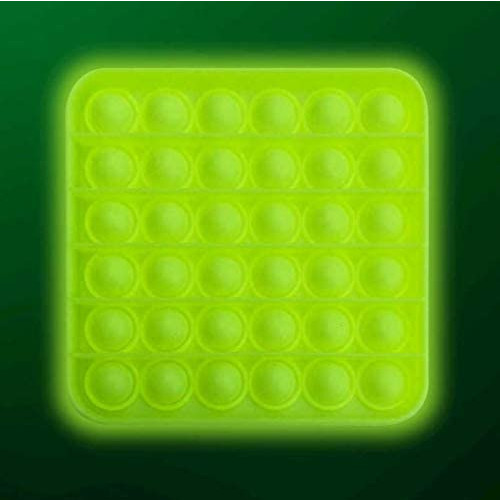 Glow In The Dark  Push Poppers - Square