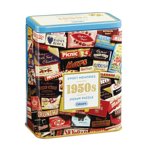 Gibsons Sweet Memories 50's 500pc Puzzle
