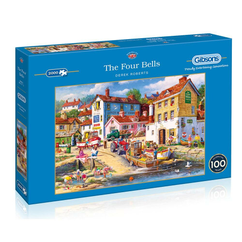 Gibsons The Four Bells 2000pc Puzzle