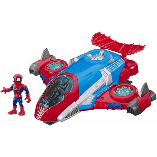 Playskool Heroes Marvel Super Hero Adventures Spider-man Web-Jet