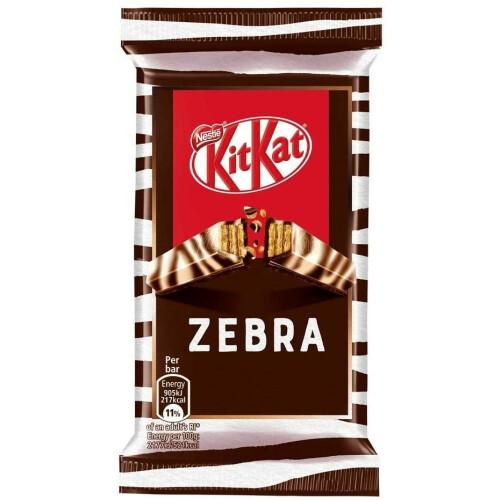 Nestle KitKat Zebra Dark & White