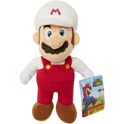 Super Mario 7.5 Inch Plush - Fire Mario