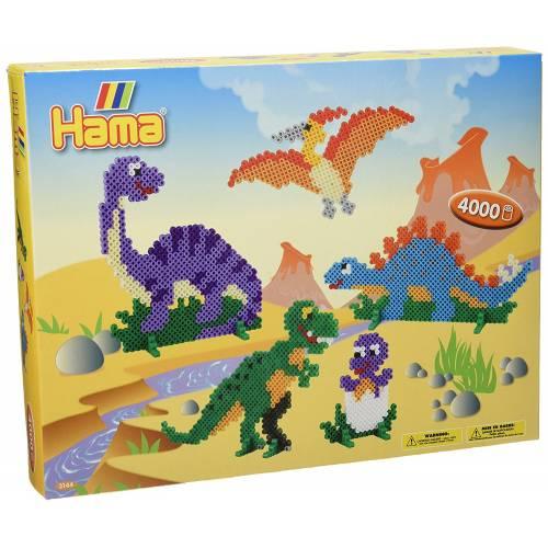 Hama Beads 3144 Large Gift Box Dinosaurs