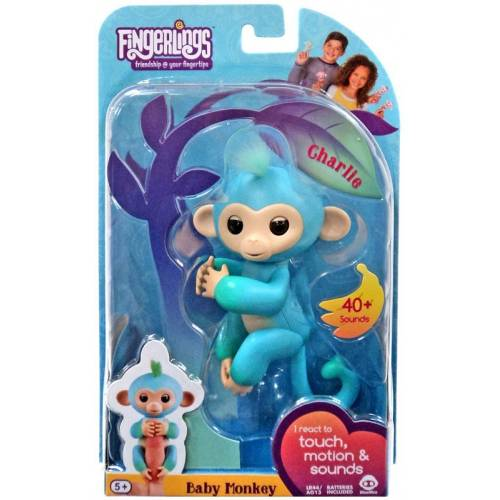 Fingerlings Baby Monkey - Charlie