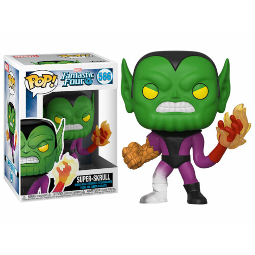 Funko Pop Vinyl - Fantastic 4 - Super-Skrull 566