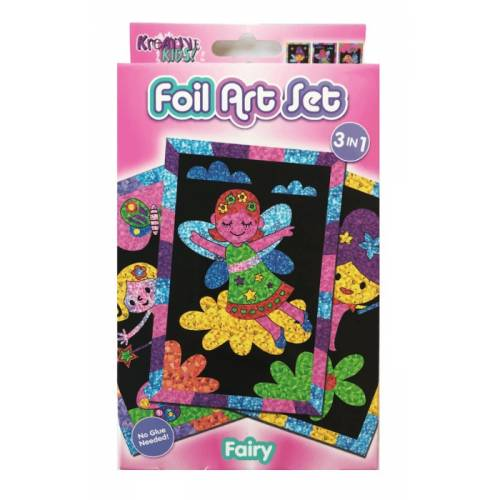 Kreative Kids - Foil Art Set - Fairy