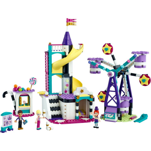 Lego 41689 Friends Magical Ferris Wheel And Slide