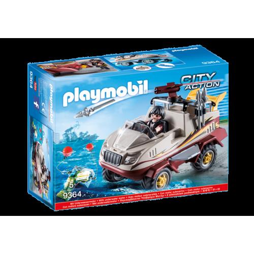 Playmobil City Action 9364 Amphibious Truck
