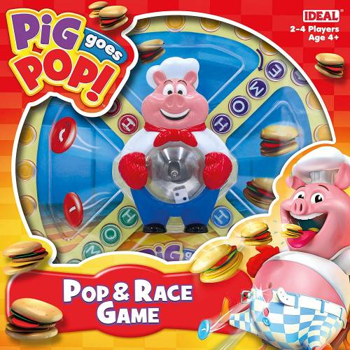 Pig Goes Pop! Pop & Race Game