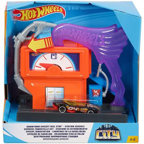 Hot Wheels Downtown Speedy Fuel Stop