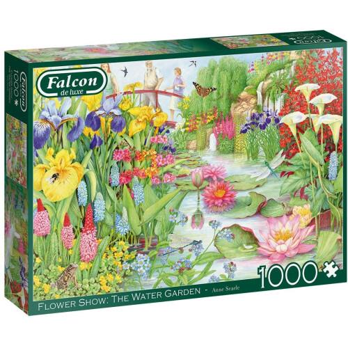 Falcon de luxe Flower Show: The Water Garden 1000pc Jigsaw Puzzle