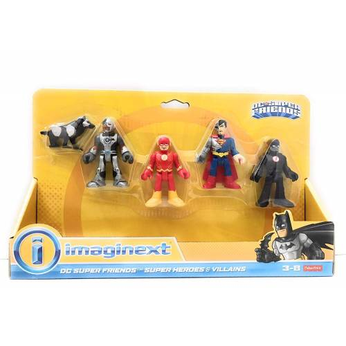 Imaginext DC Super Friends Heroes & Villains - Flash & Cyborg