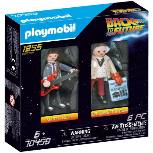 Playmobil 70459 Back to the Future Marty Mcfly and Dr. Emmet Brown
