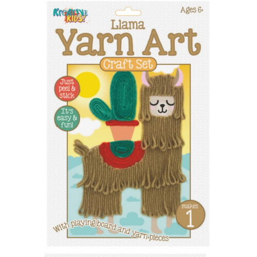 Kreative Kids - Yarn Art Craft Set Llama