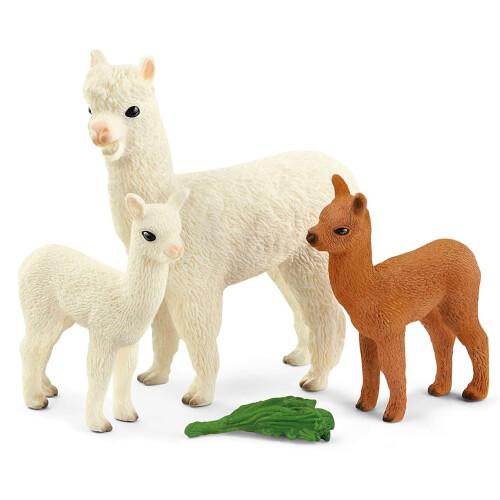 Schleich Wild Life 42544 Alpaca Set