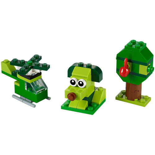 Lego 11007 Classic Creative Green Bricks