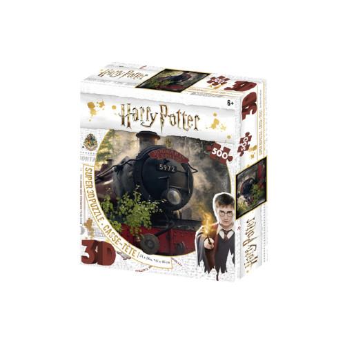 Harry Potter Super 3D Puzzle 500pc - Hogwarts Express