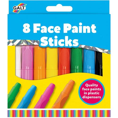 Galt 8 Face Paint Sticks
