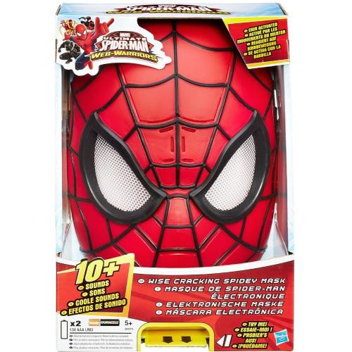 Ultimate Spider-man Web-Warriors Wise Cracking Spidey Mask