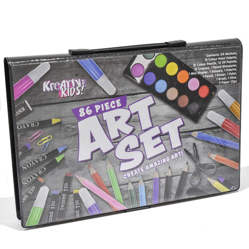 Kreative Kids 86 Piece Art Set