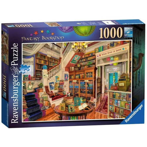 Ravensburger 1000pc Puzzle Fantasy Bookshop