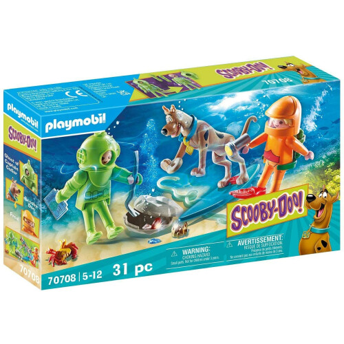 Playmobil 70708 Scooby-Doo - Adventure With Ghost Of Captain Cutler