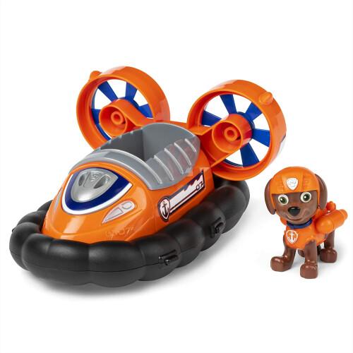 Paw Patrol Basic Vehicle with Pup - Zuma Hovercraft