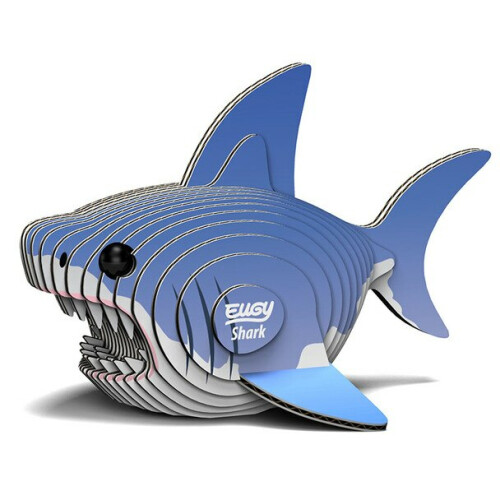 Eugy - 3D Model Craft Kit - Shark