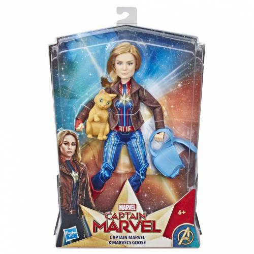 Captain Marvel Action Figure with Goose