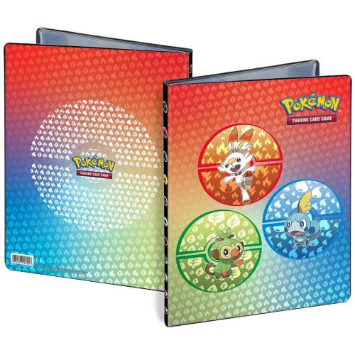 Pokemon TCG 9-Pocket Portfolio - Galar Starters