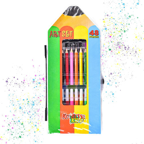 Kreative Kids 48 Piece Art Set
