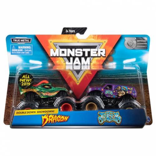 Monster Jam - 2 Pack - Dragon vs Jester