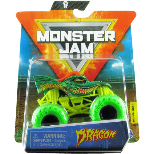 Monster Jam 1:64 - Dragon (Nitro Neon)