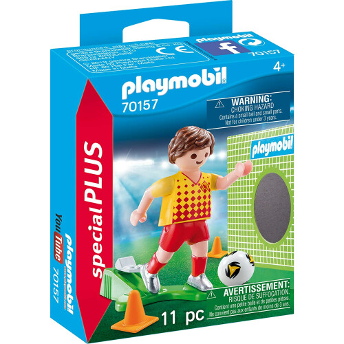 Playmobil 70157 Soccer Player with Goal