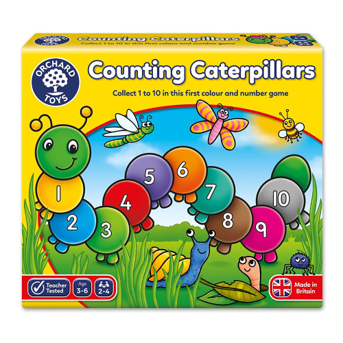 Orchard Counting Catepillars
