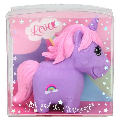 Depesche Ylvi & the Minimoomis Unicorn Eraser - Purple