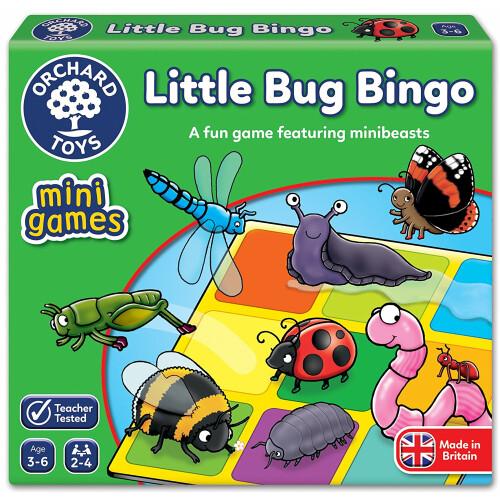 Orchard Mini Game Little Bug Bingo