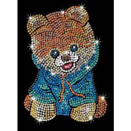 Sequin Art Limited. Sequin Art Blue Teddy Bear Dog 1710