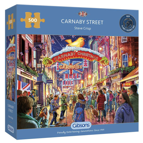 Gibsons Carnaby Street 500pc Puzzle